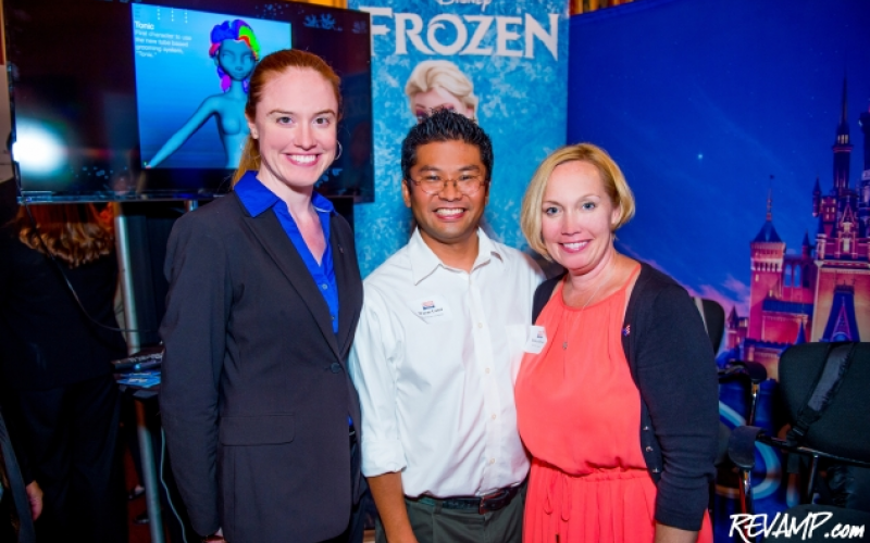Some of the creative minds behind Frozen tallk about their work at Movie and TV Magic Day. Credit: Daniel Swartz/Revamp.com
